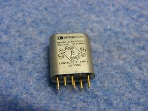 Lot Of 7 Datron es Div Relays 68gbo a1 552 3