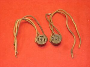 Jaguar Xk120 Xk140 Xk150 Headlight Wiring Harness Plugs Original Rle Concourse