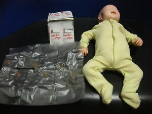 Simulaids Infant Toddler Child Recording Cpr Training Manikin
