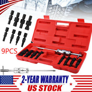 9pc Blind Hole Pilot Bearing Puller Internal Extractor Removal W Slide Hammer B