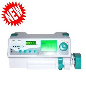 Veterinary Animals Injection Infusion Syringe Pump Alarm Kvo drug Library Safe