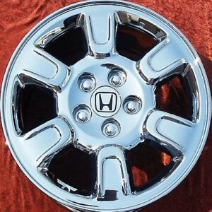 Set Of 4 New Chrome 17 Honda Ridgeline Oem Wheels Rims Odyssey Acura Mdx 63895