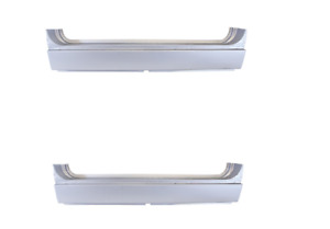 Pair 1966 77 Ford Bronco Outer Rocker Steel Repair Panels Left Right Weldable