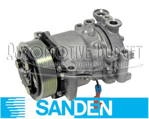 A c Compressor W clutch For Sanden 4342 4351 4466 4850 New Oem