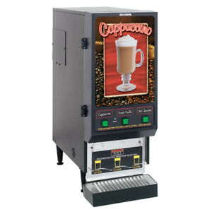 Bunn Fmd 3 3 Flavor Commercial Cappuccino Machine Shipping Available In Us