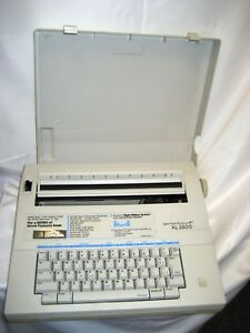 Refurbish Smith Corona Xl 2500 Typewriter word Processor Spell right Dictionary