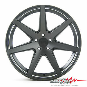 20 Rohana Rc7 Matte Graphite Concave Wheels Fits Hyundai 5x114 3 Or 5x4 5
