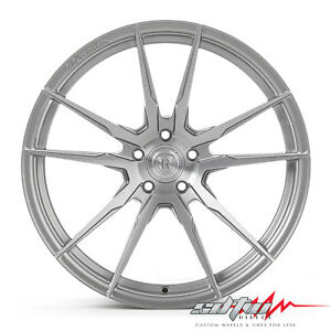 20 Rohana Rf2 Brushed Titanium Concave Wheels Fits Scion 5x114 3 Or 5x4 5