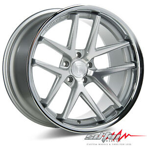 20 Rohana Rc9 Machine Silver Concave Wheels Fits Lexus 5x4 5 Or 5x120