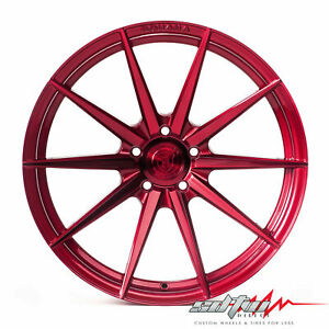 20 Rohana Rf1 Gloss Red Concave Wheels Fits Lexus 5x4 5 Or 5x120