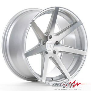 20 Rohana Rc7 Machine Silver Concave Wheels Fits Scion 5x114 3 Or 5x4 5