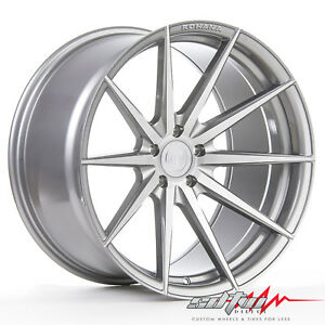 20 Rohana Rf1 Brushed Titanium Concave Wheels Fits Nissan 5x114 3 Or 5x4 5