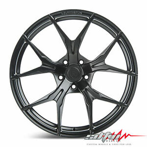 19 Rohana Rfx5 Matte Black Concave Wheels Fits Lexus 5x4 5 Or 5x120