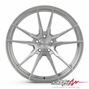 20 Rohana Rf2 Brushed Titanium Concave Wheels Fits Maserati 5x114 3 Or 5x4 5