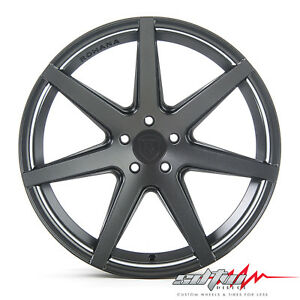 20 Rohana Rc7 Matte Graphite Concave Wheels Fits Honda 5x114 3 Or 5x4 5