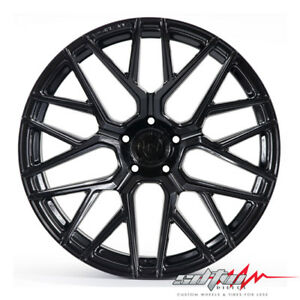 20 Rohana Rfx10 Gloss Black Concave Wheels Fits Lexus 5x4 5 Or 5x120