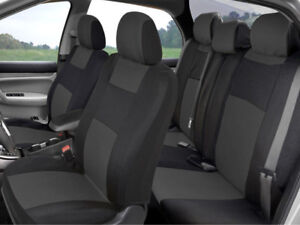 Polycloth Economy Car Seat Covers For Auto Suv Truck 9pcs Front