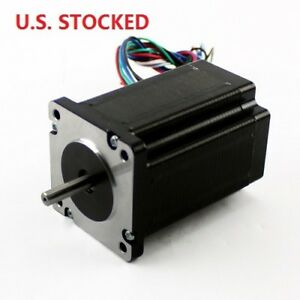 2pcs Nema23 425oz in 2 8a Stepper Motor Dual Shaft