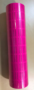 30 Rolls 15000 Tags Pink Labels For Motex Mx 5500 L5500 Mx989 Price Gun 65