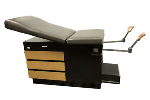Ritter Midmark 100 Patient Medical Exam Table With Stirrups Obgyn