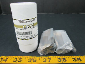 Leco Corporation New 0501 Part No 782 059 Nickle Boat Liner 0501 T