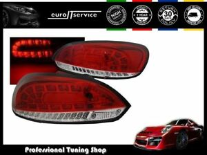 Set Rear Lights Tail Ldvwi1 Vw Scirocco Iii 2008 2010 2011 2012 2013 2014 Led