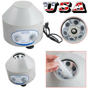 110v Electric Centrifuge Machine 4000rpm Lab Practice 25w Lab Equipment Usa Fda