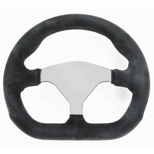 Empi 79 4041 Formula 1 Steering Wheel Silver 3 Spoke 10 X 9 D shape Diameter