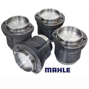 Vw Air Cooled 1776cc Mahle Forged Pistons Cylinders 90 5mm X 69mm Set Of 4