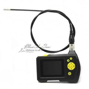 Handheld Dia 3 9mm Endoscope Borescope Snake Inspection Tube Camera 2 7 Monitor