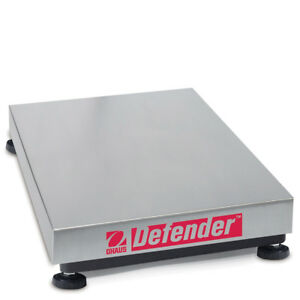 Ohaus NTEP Defender B-Series Standard Industrial Scale Base D150BX 150kg x 20g