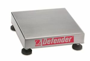 Ohaus NTEP Defender Stainless Steel Bench Scale Base 250kg x 20g