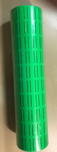 10 Rolls 5000 Tags Green Labels For Motex Mx 5500 L5500 Mx989 Price Gun 30