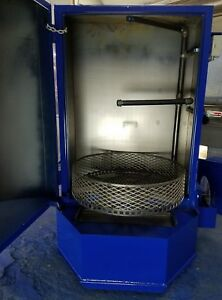 Spray Washing Cabinet Parts Washer 2hp 1000lb Gear Drive Mid Spray Bar Package