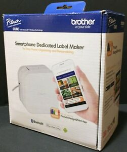 New Brother P touch Cube Smartphone Dedicated Label Maker W bluetooth Wireless