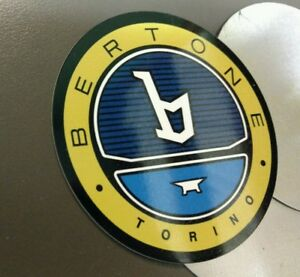 Bertone X1 9 Wheel Center Set Of 4 Larger Of 2 Sizes Available Sign Badge
