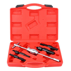 5pc Blind Hole Slide Hammer Pilot Bearing Removal Repair Gear Puller Tool Kit
