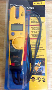 Genuine Fluke t5 600 t5 Tester volts ohms amps fast Free Shipping