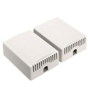 60pcs Diy Plastic Project Housing Electronic Junction Case Power Supply Box