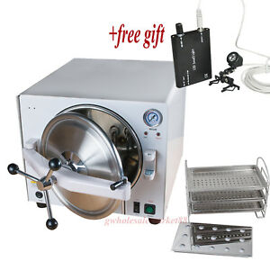 18l Stainless Steel 304 Dental High Pressure Autoclave Disinfection Sterilizer