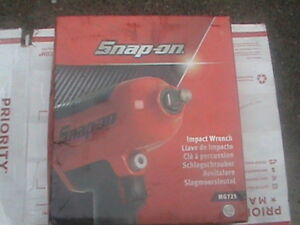 Snap On 1 2 Drive Heavy Duty Impact Wrench Mg725