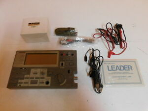 Leader Lcd 100 Dmm scope 200khz Lps 1908u