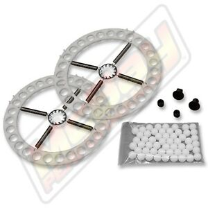 Hunter Alignment Steel 14 Turn Plates Table Ring Ball Repair Rebuild Kit