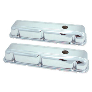 Valve Cover Spectre 5276 V C Set Buick 68 81 350 Chrome