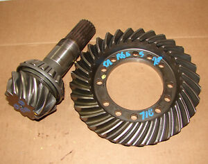 Car65598 Carraro Ford 5610 6610 7610 7810 Mfwd Front Ring Gear And Pinion Shaft