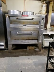 Vulcan Commercial Pizza Oven Double Deck Good Used Condition