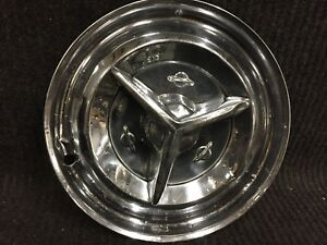 1956 Oldsmobile Fiesta Hubcap Wheel Cover 15 Olds Hub Cap With Spinner Oe56swc