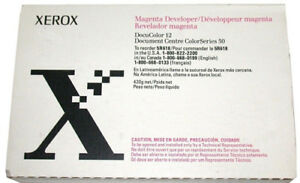 New Genuine Xerox Docucolor 12 Developer Magenta 5r618 Free Shipping