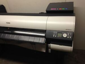 Canon Imageprograph Ipf8000 Full Color 1200 Dpi Network Wide Format Printer