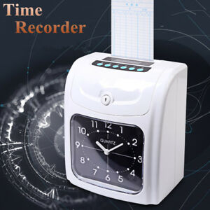 Electronic Employee Time Recorder Time Clock Punch For Business 50cards